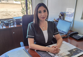 "Jefe Área Educacional. Directora Sala Cuna y Jardín Infantil ""Burbujitas de Mar""."